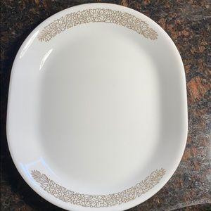 1 Corelle Woodland Serving Platter 12 x 10